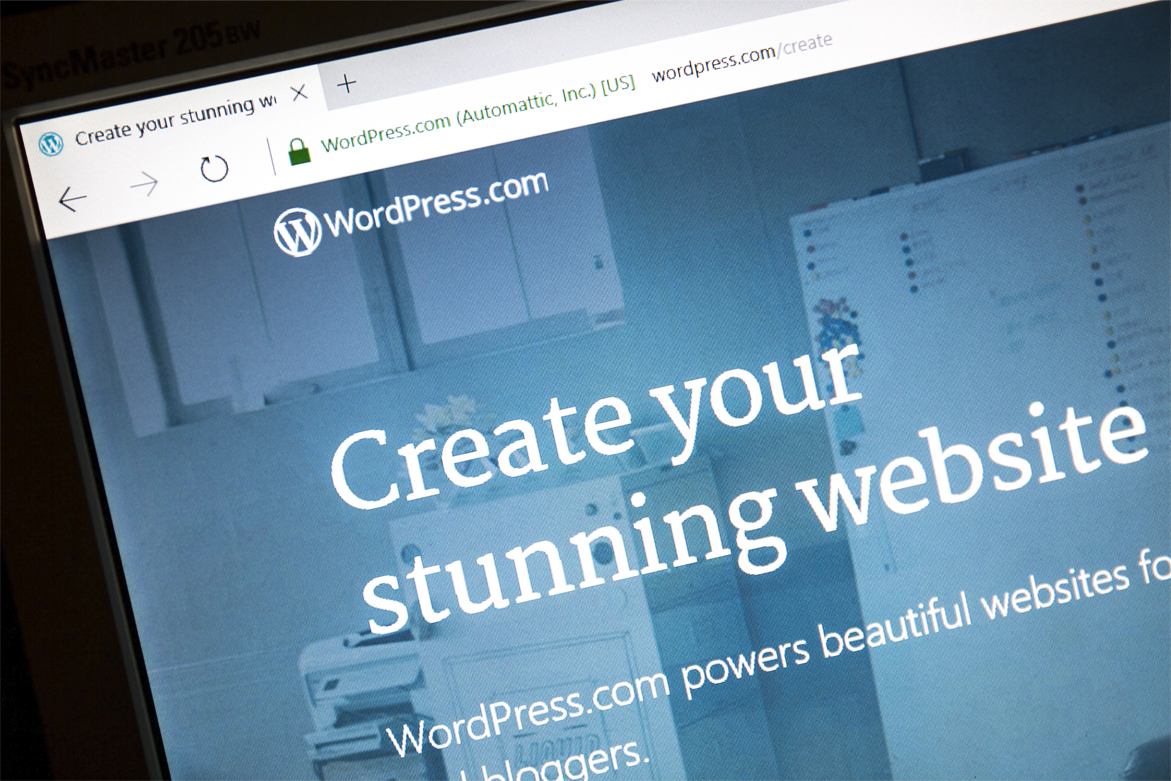 The Content Management System: WordPress is the premiere content management system in the world.